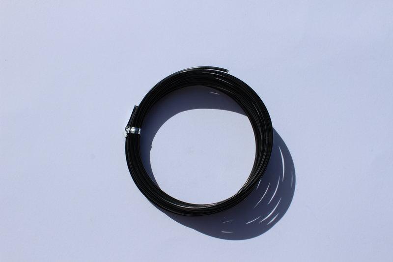 Fil aluminium diam 3 mm vendu au metre pour crochets de - Voile de forcage au metre ...