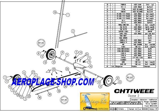 Plan De Chtiweee Classe 2 Aeroplage Shop Com