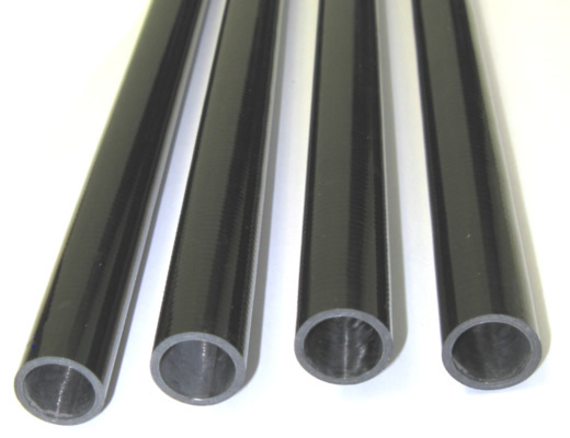 Tube Carbone diamètre ext 4 mm / inter 1 mm, Longueur 1000 mm